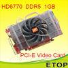 Radeon HD6770 DDR5 PCI-E Graphics Games Card