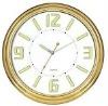 analog beautiful new design metal wall clock with digital calendar