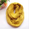 Acrylic Knit neckwarm loop scarf