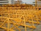 Tower crane jib section