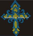 T-Shirt hotfix motif,hot fix rhinestone transfer