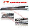 conical twin screw barrel 38crmoala for plastic extruder