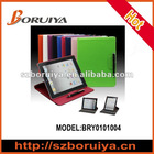 High Quality Microfiber Leather Cover Case for Apple iPad 3