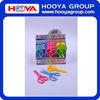 popular children plastic scissors with different colors and designs