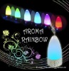 Rainbow LED Ultrasonic Humidifier, Ideal Air Cleaner for Home Use