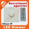 lowest price&hi-quality 12V/24V,144w led dimmer