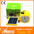 China Plastic Lantern Solar 1W For Emergency Lighting