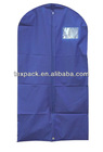 Blue peva garment bag with factory price