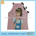 JSMART digital custom print kitchen gadget housewife apron customized giftware