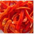 IQF red pepper strips