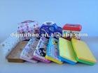 colorful square metal tin pencil case