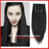 Quality good hair clip extension with factory price