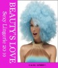 Light Blue Fro Costume Wig