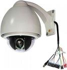 "1/3"" Sony CCD Low Speed PTZ Dome Camera 650TVL"