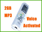 2GB Voice Activated Dictaphone Phone Recorder MP3