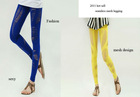 92%nylon 8%spandex ladies' seamless mesh legging
