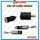 Anti-jamming car engine immobilizer oil cutter device