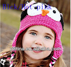 Hot sale Top Quality Crochet wool baby hats Winter hats for kids