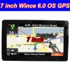 7'' Digital 800*480 HD Wince 6.0 OS Car GPS