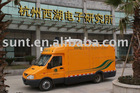 XD90 series of integrated electrical test vehicle