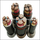 armoured electric power cable (PVC insulation)