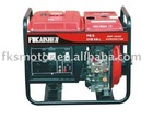Air cooled diesel generator set
