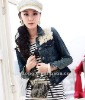 Spring Lady jacket,Jean jacket,Fashion jacket =LD-WT085