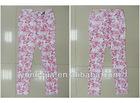 White cloth printing pants