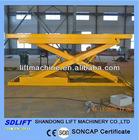 hydraulic car lift with 2500kgs