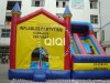 Best Selling Monkey Castle Inflatable Slide Combos
