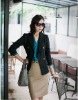 gentwoman temperanent slim fit fashion short coat