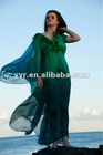 YYH-JB0021 Feathered Butterfly Chiffon Abaya For Women Dubai 2012