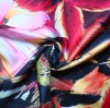 Printed Silk Twill Fabric in animal printing 0811155