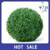 Furniture Decoration hanging Plastic Artificial Fake Boxwood Topiary Ball Faux Topiary Grass Ball ---- Largest factory