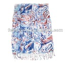 2012 Fashion Hot Cotton Printing Pattern Scarf Shawl