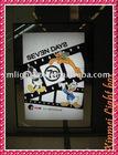 2011super slim acrylic sign displays LED light box
