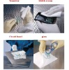 Microfiber cleaning wipes,PCB,TFT,FPD processing wiping,high cleanest