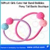 50PcsX Girls Cute Hair Band Bobbles Pony Tail Elastic Boutique04
