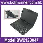 10inch unversial pc tablet leather case with keyboard