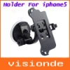 New Arrival Car Mount Windshield Cradle Holder for iPhone 5 5G 5th Free Shipping
