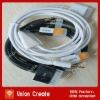 3.5mm Car Aux audio usb cable for iphone ,ipad