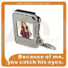 1.5 inch mini digital frame, keychain design, portable and easy to use