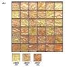 Gold foil Glass Mosaic tile