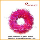 Hackle Feather Wreath