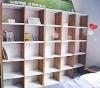 Living room wooden latticed cabinet&bookshelf