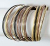 metal bangle&bracelet set of 15