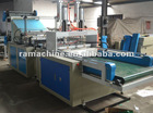 Fully Automatic Four-Lines T-shirt Bag Making Machine (Cold-cutting&Double-deck&In-line Puncher&Four-line)