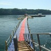 floating dock ,corrugat eps panel
