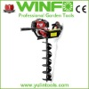 WF-520B earth auger drill bits/ground hole drill earth auger