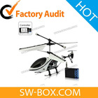 RC Helicopter - iPhone iPad iPod Touch Remote Controlled Helicopter (Silver / Black)